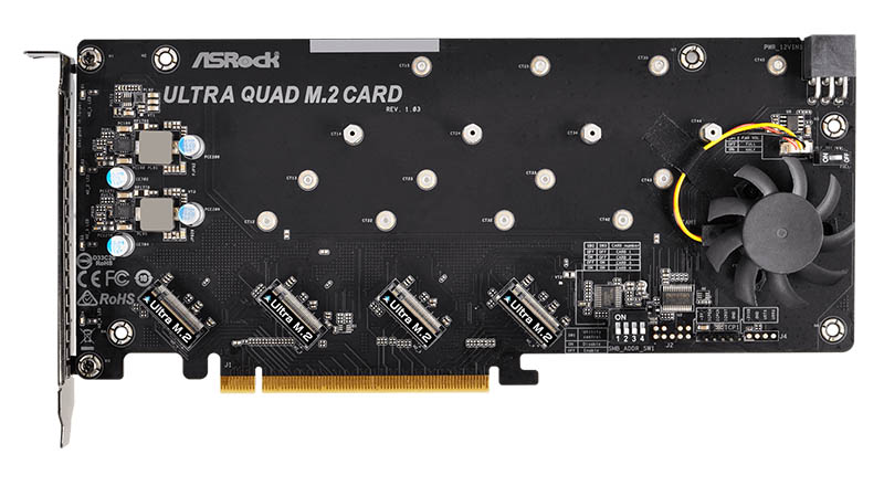 ASRock Ultra Quad M.2 Card