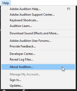 Adobe Audition CC 2019