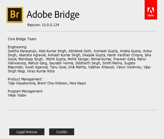 Adobe Bridge CC 2020