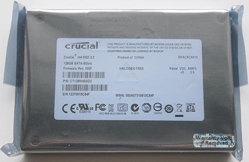 Crucial M4 (CT128M4SSD2)