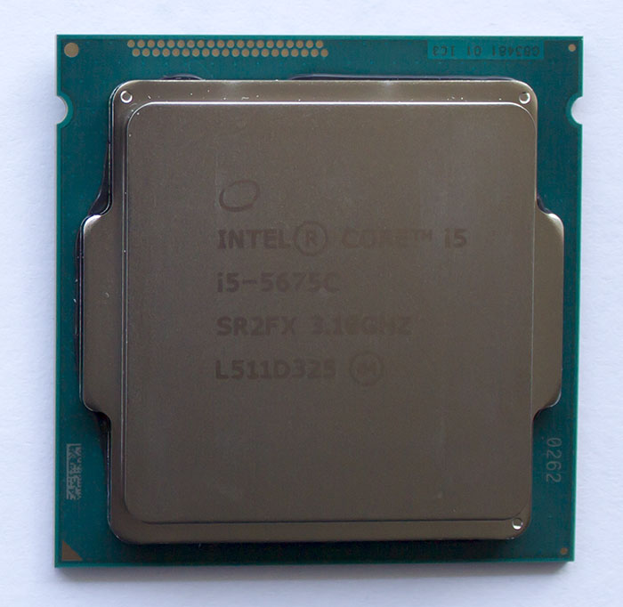 Intel Core i5-5675C (Intel Broadwell-K)