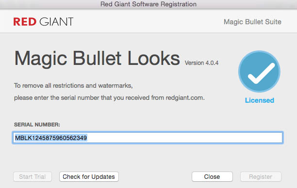 Red Giant Magic Bullet Suite 13 for After Effects