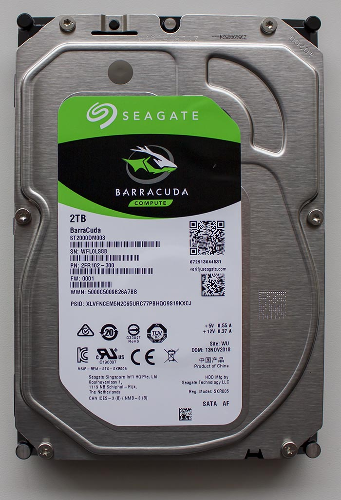 Seagate Barracuda ST2000DM008