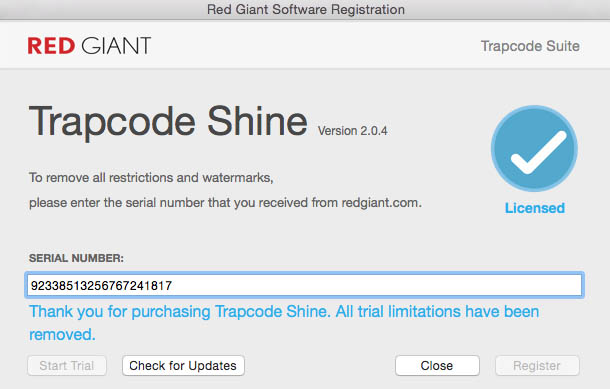 Red Giant Trapcode Suite 14.0.2