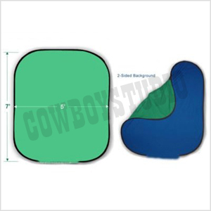 Reversible Two Sided Pop Out Chormakey Green & Blue Background Panel