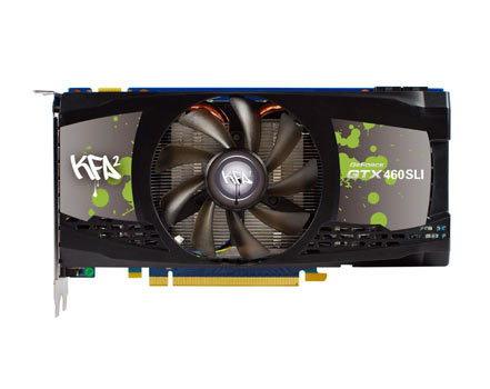 KFA2 GeForce GTX 460 1GB SLI pack