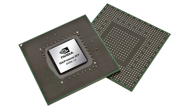 NVIDIA GeForce GT 640M LE