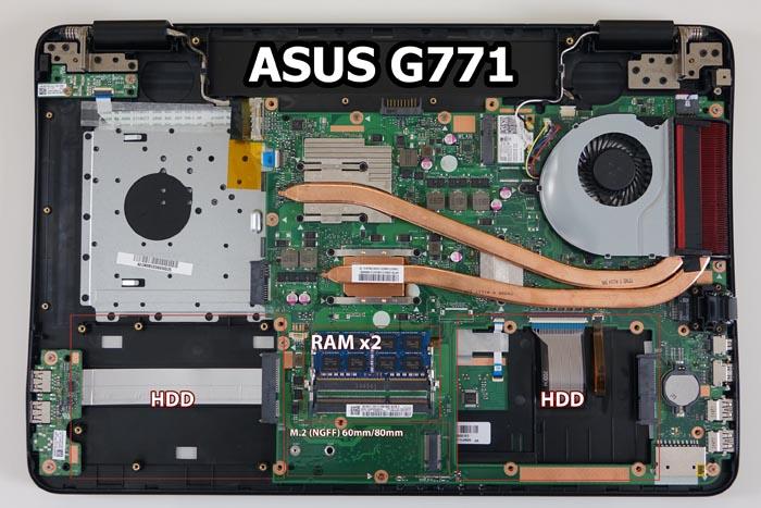 ASUS ROG G771JW