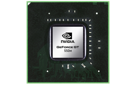 NVIDIA GeForce GT 550M