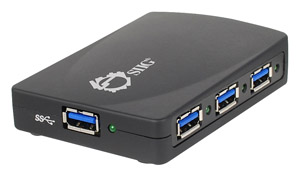 SIIG SuperSpeed USB 4-Port Hub
