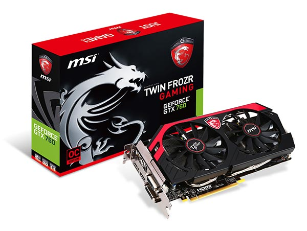 MSI N760 TF 2GD5/OC