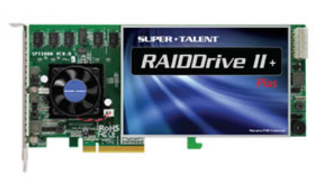Super Talent RAIDDrive II Plus PCIe SSD