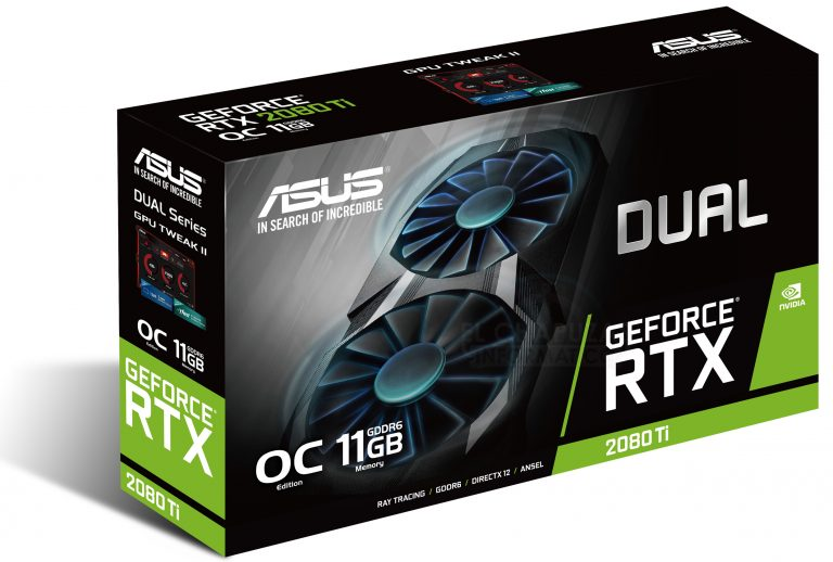 ASUS GeForce RTX 2080 Ti Dual