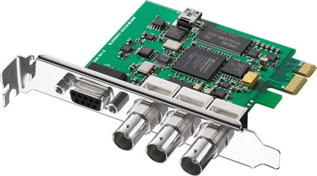 Blackmagic Design DeckLink SDI.
