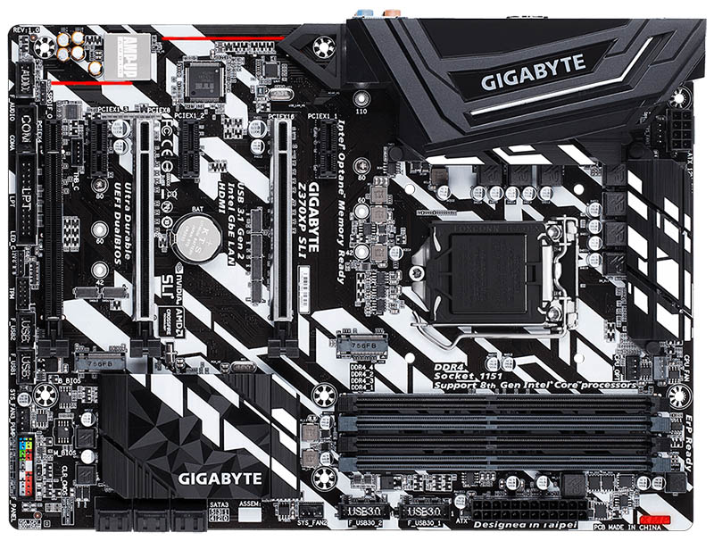 GIGABYTE Z370XP SLI (rev. 1.0)