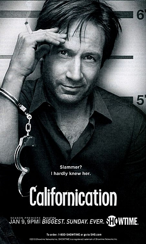 Плакат сериала Californication