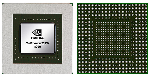 nVidia GeForce GTX 870M