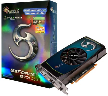 SPARKLE GeForce GTX 460