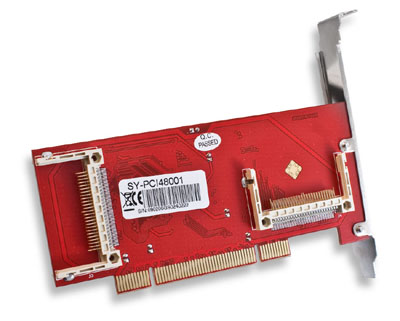 SYBA PCI to Compact Flash Adapter